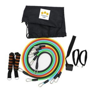 11Pcs/Set Resistance Bands